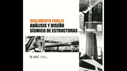 (BOLENTIN SISMICO) (R-001) Reglamento para el analisis y diseño sismico de estructuras