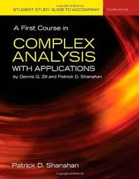 A First Course in Complex Analysis - Dennis G. Zill