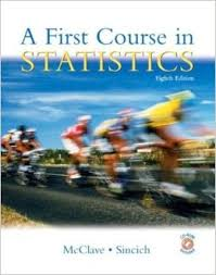 A First Course in Statistics - James T. McClave, Terry Sincich - 8ed
