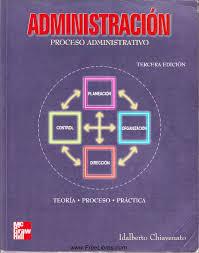 Administración Proceso administrativo Chiavenato