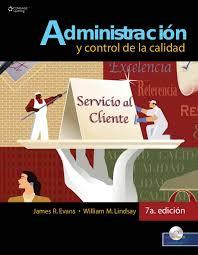 Administracion y Control De Calidad Evans 7th