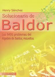 Algebra De Baldor - SOLUCIONARIO