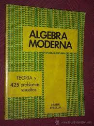 Algebra Moderna - Frank Ayres - 1ed