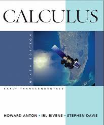 Anton Calculus Early Transcendentals 9th txtbk