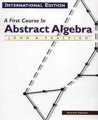 Álgebra Abstracta Un Primer Curso - J. Fraleigh - 3ed