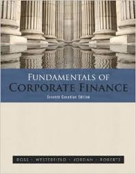 Fundamentals of Corporate Finance - Ross, Westerfield, Jordan  - 8ed