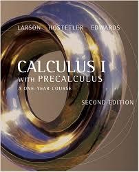 Larson Calculus I with Precalculus 3rd txtbk