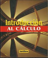 Libro Introduccion al calculo (Santillana)