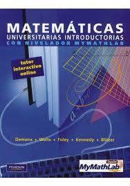 Matemáticas universitarias introductorias con nivelado