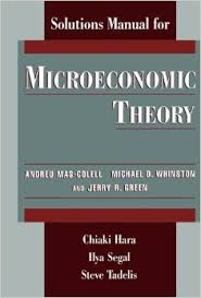 microeconomic theory solution manual - mas-colell (1)
