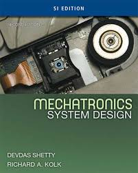 Shetty Kolk Mechatronics System Design 2nd SI txtbk