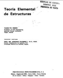 Teoría Elemental de Estructuras - Yuan-Yu Hsieh - 1ed