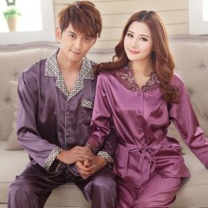 Amantes-de-primavera-y-otoño-de-seda-de-manga-larga-pijamas-hombres-y-mujeres-clasifican-en
