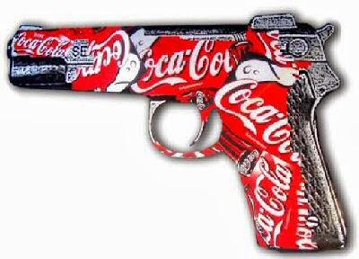 coca cola pistola